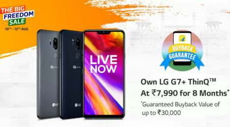 LG G7+ThinQ at Rs 7990 on Flipkart: Here's how you can avail theoffer