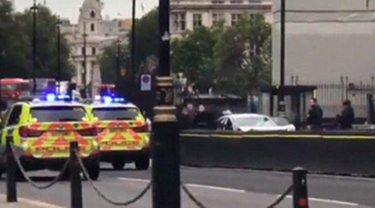 London Parliament car crash LIVE Updates: Several injured as man crashes car into barricade