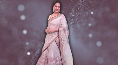 Madhuri Dixit is elegance personified in this Tarun Tahiliani lehenga