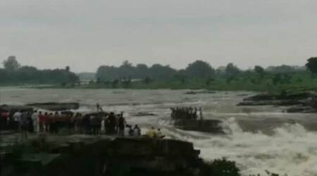 Five feared drowned as water level surges in Madhya Pradesh waterfall