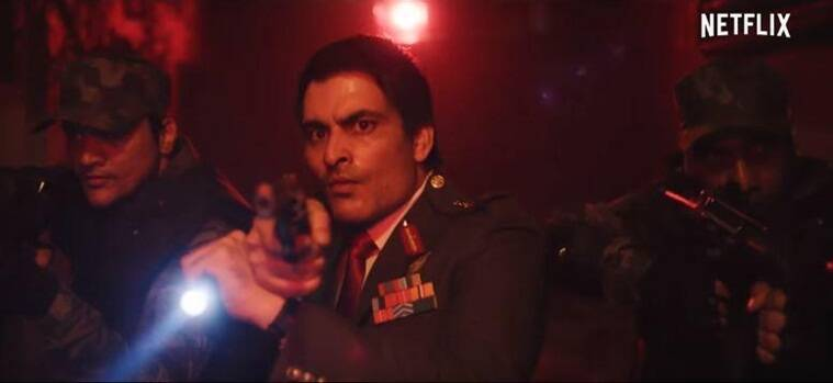 Manav Kaul in a still from Netflix's Ghoul.
