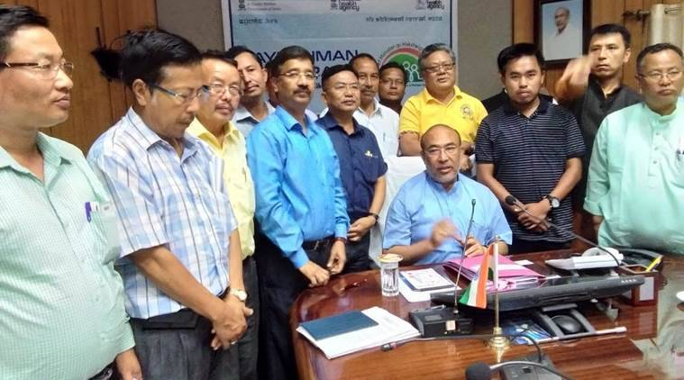 Manipur University suspends protest temporarily, inks Mou with state govt, HRD ministry