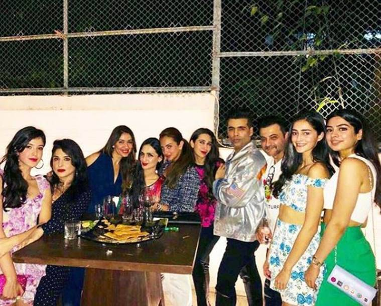 Manish Malhotra party photo