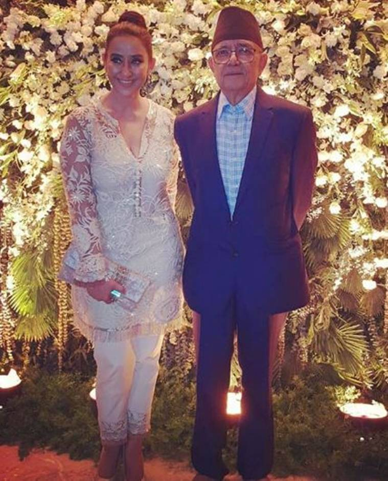 manisha koirala parents