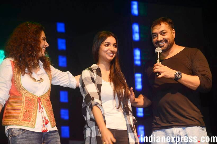 taapsee pannu and anurag kashyap photo