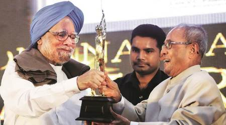 As PM, Manmohan Singh provided political stability in most uncertain times: Pranab Mukherjee