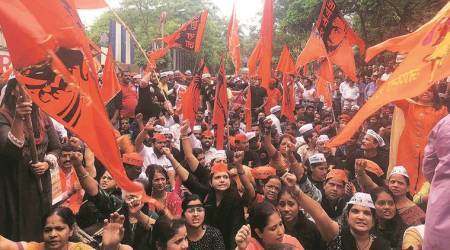 After Marathas, Dhangar community holds day-longprotest