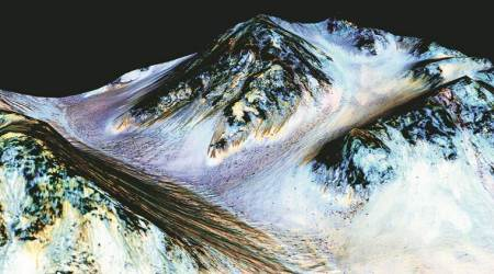 What a liquid water lake reveals and conceals about Mars