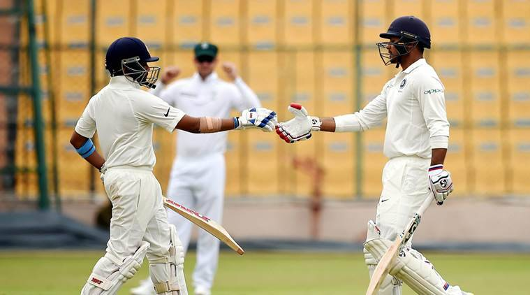 Mayank Agarwal hits 200, Prithvi Shaw century as India A score 411/2 on Day 2 against South Africa A