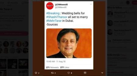 Marrying Shashi Tharoor? Mehr Tarar slams Twitterati for believing parody account
