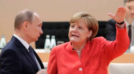 Angela Merkel says don't expect much from meeting with Vladimir Putin