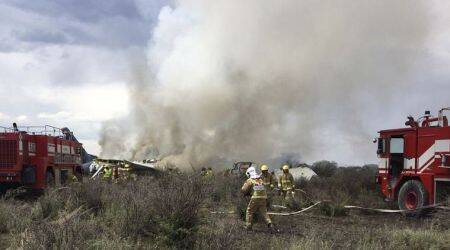 Aeromexico plane with 100 people on board crashes in Mexico's Durango state, nofatalities