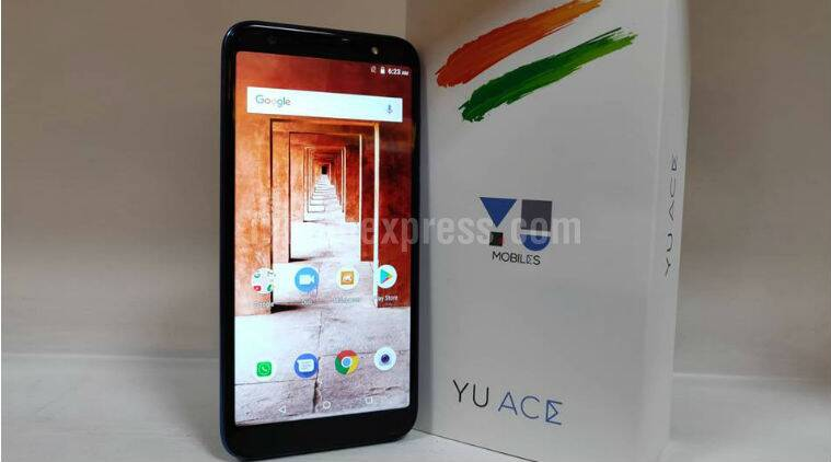 Micromax Yu Ace with 4000mAh battery, 18:9 display launched