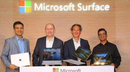 Microsoft Surface Go coming to India soon, Surface Book 2 and Laptop pitched as premium devices