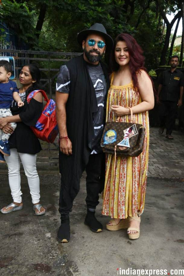 bosco martis with wife