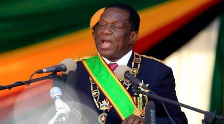 Zimbabwe's President Emmerson Mnangagwa takes oath as US censure hangs over vote