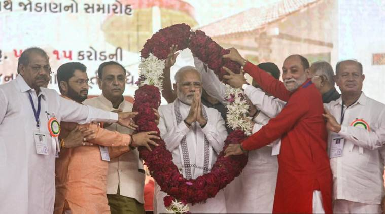 pm in gujarat live pm awas yojna