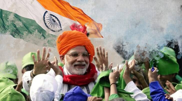 Narendra Modi independence day