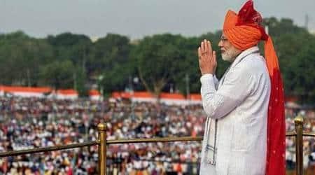 PM Modi, PM Modi independence day speech, Modi speech, independence day celebrations, india at 72, india news, indian express news