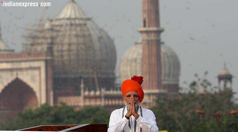 PM Modi speech, modi independence day speech, general assembly elections 2019, lok sabha polls 2019, indian Express column