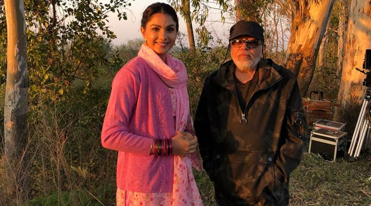 Monica Gill with JP Dutta on paltan