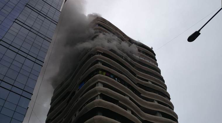 Mumbai: Fire breaks out in Crystal tower in Parel, Several trapped; rescue operation underway