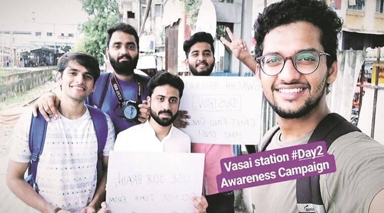 Mumbai: Commuters get safety lesson from men held for performing stunts