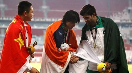 Didn't realise was flanked by Chinese and Pakistani athletes on victory podium: Neeraj Chopra