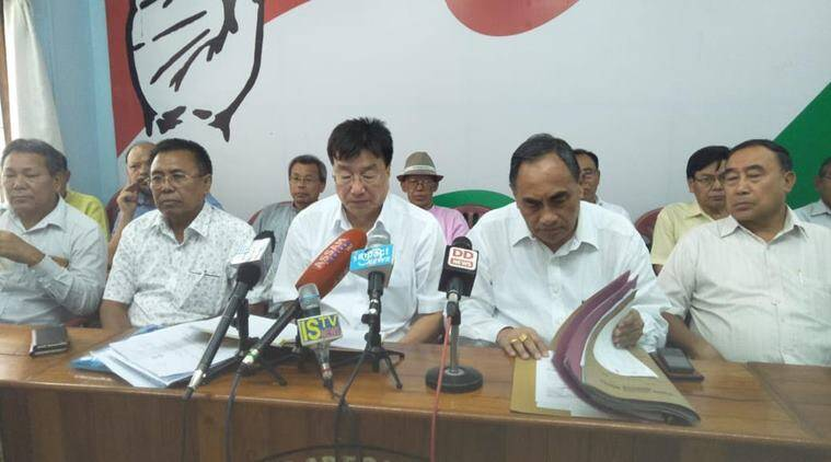 The core committee of political parties on Tuesday asked for the withdrawal of the framework agreement signed between the Centre and NSCN-IM. (Express)