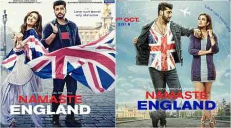 Namaste England posters: Arjun Kapoor and Parineeti Chopra prove love knows no distance