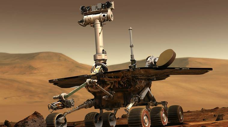 'Foreign object' found by Mars rover a rock flake: NASA