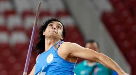 Asian Games 2018: Neeraj Chopra wins first India's first gold in javelin throw, sets new nationalrecord