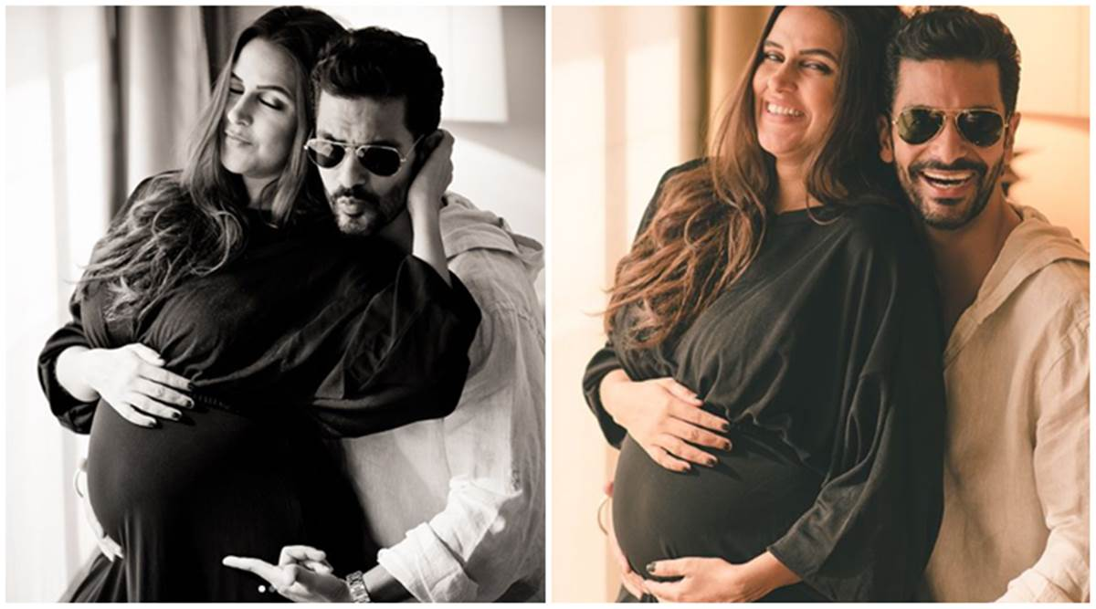 Neha Dhupia and Angad Bedi are expecting their first child, see photos |  Entertainment News,The Indian Express
