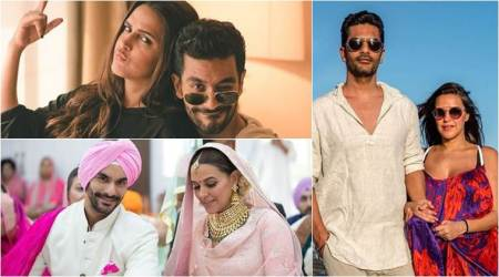 In photos: The Neha Dhupia and Angad Bedi lovestory