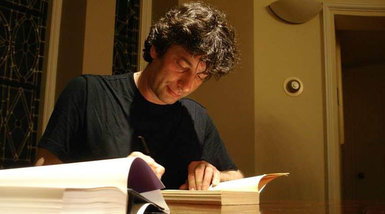 neil gaiman, neil gaiman books, jaipur literary festival, neil gaiman jlf, neil gaiman in india, indian express, indian express news