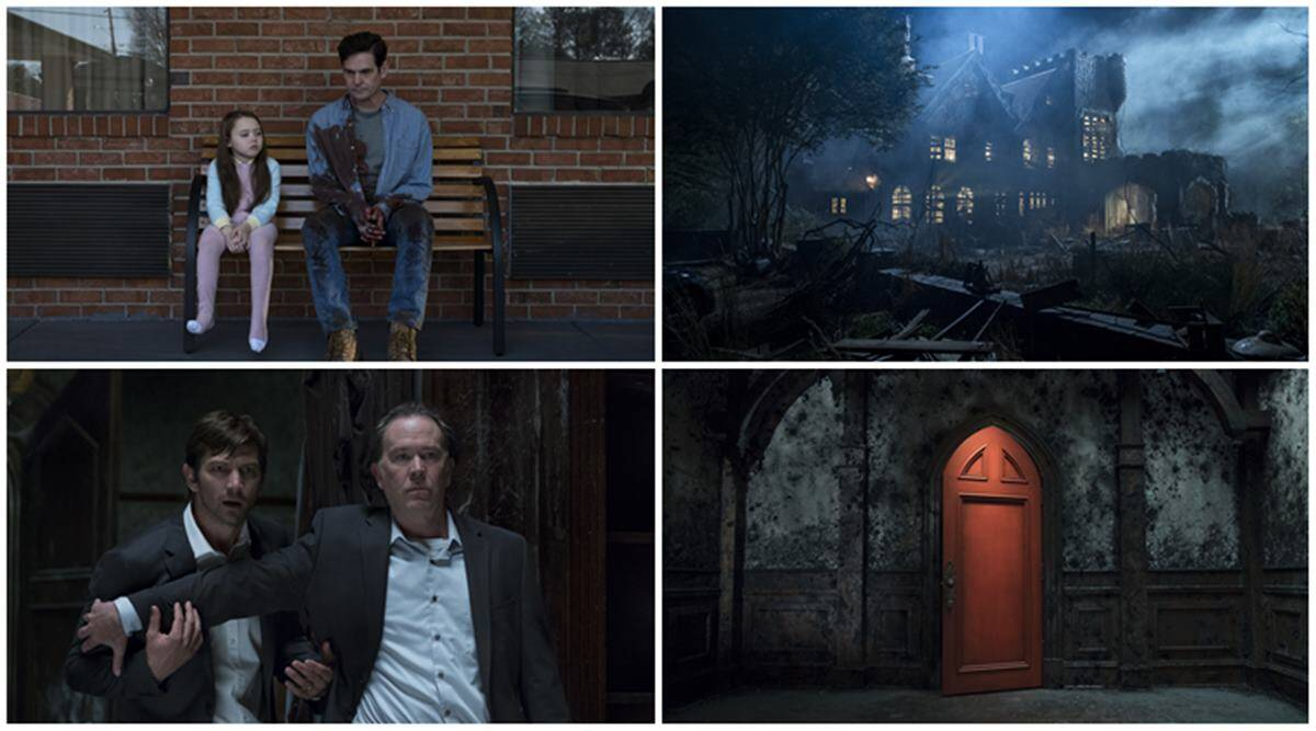 First Look Netflix S Modern Imagining Of The Haunting Of Hill House Entertainment News The Indian Express