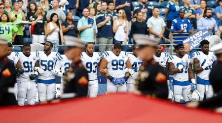 NFL: At least five players protest during anthem in pre-season