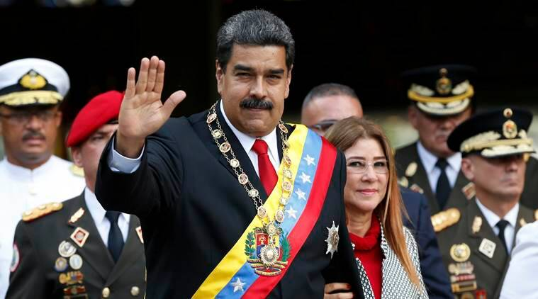 US accuses Venezuela's leader  Nicolas Maduro of operating `a kleptocracy'