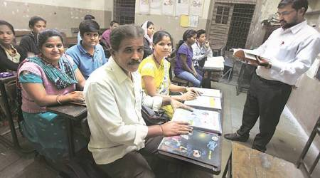 Pune: In the same classroom, on the same bench, parents and children aspire for a better future