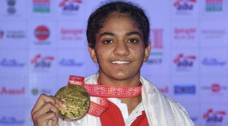 Image result for nitu boxing champion