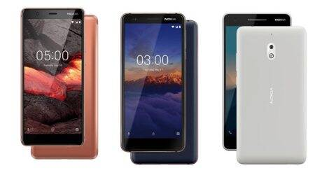 Nokia 2.1, Nokia 3.1 3GB RAM model, Nokia 5.1 on sale in India: Price, specifications
