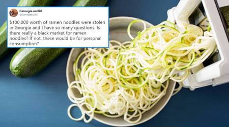 Noodles worth Rs 70 lakh stolen in Georgia; people wonder if thieves are building 'Mount Everest'