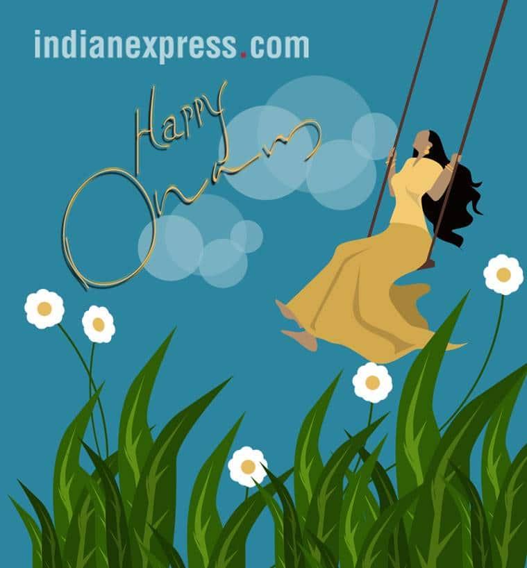 Onam 2018, Onam 2018 Date, Onam Malayalam, Kerala Onam, Onam pookalam, Onam Images, Onam Festival, Happy Onam, Onam Wishes, Onam Festival 2018, indian express, indian express news