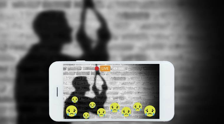 online suicide streaming, depression suicide, why are people commiting suicide, why is suicide streamed online, online suicide video, suicide commit, indian express, indian express news