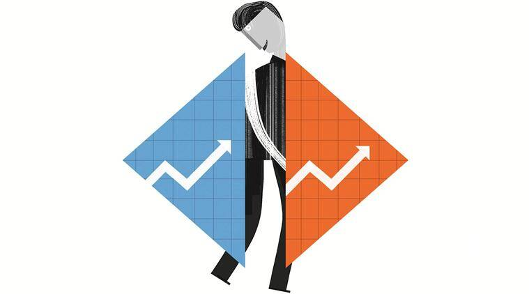 indian economy, GDP, GDP India, GDP in UPA, GDP under NDA, Current GDP of India, GDP measurement, Gross domestic product, india GDP growth rate, Niti Ayog, BJP govt , narendra modi govt, congress, Manmohan singh govt, Indian express
