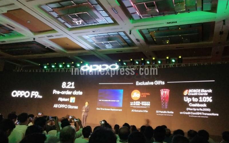 Oppo F9 Pro launch in India highlights: Oppo F9 priced at Rs 19,990