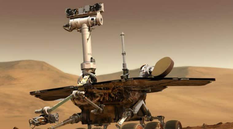 NASA, NASA Opportunity rover, Mars dust storm, NASA Mars probes, Mars Opportunity probe, solar panels, NASA Deep Space Network, dust storm speeds, Mars Reconnaissance orbiter