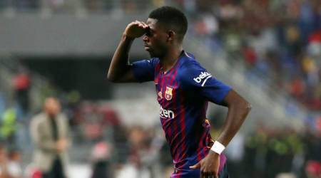 Super Cup hero Ousmane Dembele puts troubled Barcelona past behind him