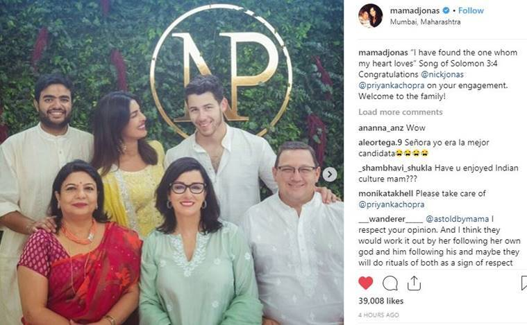 Inside Priyanka Chopra and Nick Jonas's engagement