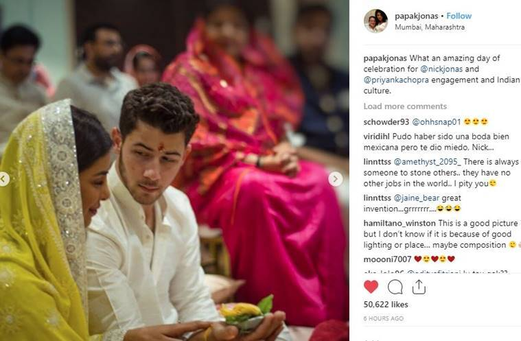 Priyanka Chopra, Nick Jonas' dance at engagement bash: All inside pics, videos